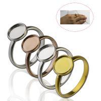 925er Sterling Silber einstellbare Fingerring, poliert, DIY & verschiedene Größen vorhanden, keine, ca. 20PCs/Menge, verkauft von Menge