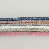 Polymer Ton Perlen , DIY, keine, 0.5-1.5x5.5x5.5mm, Bohrung:ca. 2mm, ca. 290PCs/Strang, 10SträngeStrang/Menge, verkauft per ca. 15.5 ZollInch Strang
