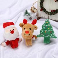 Eisen Weihnachten Schlag Armband, mit Baumwollsamt, verschiedene Stile für Wahl, 30*225mm, verkauft von PC