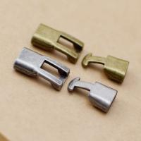 Zinklegierung Ring-Ring Verschluss, plattiert, DIY, keine, frei von Nickel, Blei & Kadmium, 35*12mm, 20PCs/Menge, verkauft von Menge