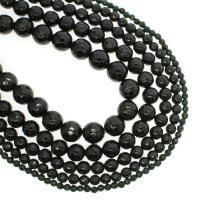 Grüne Goldstein Perlen, grüner Goldsandstein, rund, verschiedene Größen vorhanden & facettierte, Bohrung:ca. 1mm, verkauft per ca. 14.9 ZollInch Strang