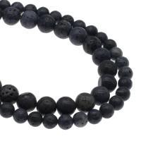 Natürliche Korallen Perlen, Koralle, rund, DIY & verschiedene Größen vorhanden, Bohrung:ca. 1mm, verkauft per ca. 14.9 ZollInch Strang