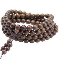 Sapotengewächse Armband, unisex & verschiedene Größen vorhanden, braun, verkauft von Strang