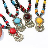Mode-Fringe-Halskette, Zinklegierung, für Frau, keine, 2PC/PC, verkauft von PC