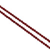 Natürlicher Quarz Perle, rund, DIY & verschiedene Größen vorhanden & facettierte, keine, Bohrung:ca. 1mm, verkauft per ca. 14.9 ZollInch Strang