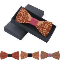 Holz Fliegen, mit Stoff, verschiedenen Materialien für die Wahl & unisex, 120x50mm, verkauft von PC