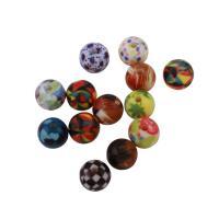 Harz Schmuckperlen, rund, 10mm, Bohrung:ca. 2mm, 100PCs/Tasche, verkauft von Tasche