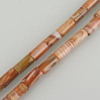 persische Jade Perle, Zylinder, 18-20x10x10mm, Bohrung:ca. 1mm, ca. 20PCs/Strang, verkauft per ca. 16 ZollInch Strang