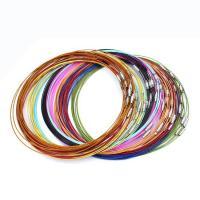Zinklegierung Halskette Schnur, DIY, keine, 46cm, 10PCs/Tasche, verkauft von Tasche