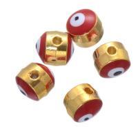 Zinklegierung Perle, goldfarben plattiert, DIY & Emaille, keine, 5mm, 300PCs/setzen, verkauft von setzen