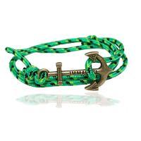 Wrap Armband , Baumwolle Schnur, mit Zinklegierung, unisex, keine, verkauft per 23.62 ZollInch Strang