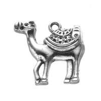Zinklegierung Tier Perlen, Kamel, plattiert, DIY, keine, 23x24mm, 500PCs/Menge, verkauft von Menge