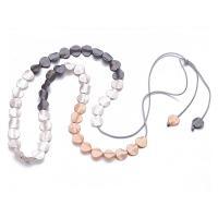 Zinklegierung Pullover Halskette, plattiert, für Frau, frei von Nickel, Blei & Kadmium, 15mm, verkauft per ca. 35.5 ZollInch Strang