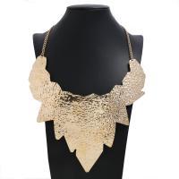 Mode Statement Halskette, Zinklegierung, plattiert, für Frau, keine, frei von Nickel, Blei & Kadmium, 200x220mm, verkauft von Strang