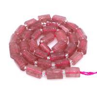Strawberry Quartz Perle, für Frau, Rosa, 8*11mmuff0c390mm, 5/Menge, verkauft von Menge