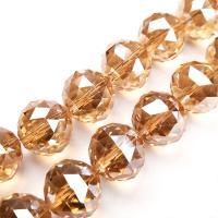 Kristall-Perlen, Kristall, unisex, mehrere Farben vorhanden, 16mm, 50PCs/Strang, verkauft von Strang
