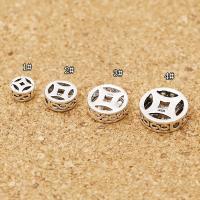 925 Sterling Silber Perlen, 925er Sterling Silber, antik silberfarben plattiert, DIY & verschiedene Größen vorhanden & hohl, Bohrung:ca. 1-4mm, verkauft von PC