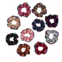 Haar Elastik, Korallen Fleece, mit Gummiband, für Frau, keine, frei von Nickel, Blei & Kadmium, 95mm, verkauft von PC