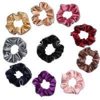 Haar Elastik, Korallen Fleece, mit Gummiband, für Frau, keine, frei von Nickel, Blei & Kadmium, 12x12x3cm, verkauft von PC