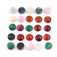 Edelstein Cabochons, DIY & verschiedene Größen vorhanden, gemischte Farben, 44x34mm, 30PCs/Tasche, verkauft von Tasche