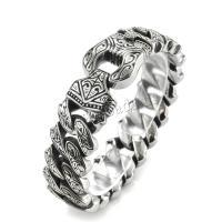 Edelstahl Schmuck Armband, 304 Edelstahl, plattiert, verschiedene Größen vorhanden & für den Menschen, keine, verkauft von Strang