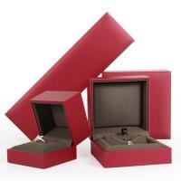 Mode Schmuckständer, Kunststoff, Quadrat, rot, verkauft von PC
