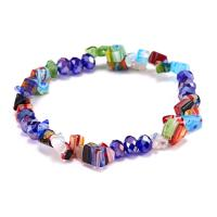 Kristall Armbänder, mit Elastomer, für Frau, verkauft per 7.48 ZollInch Strang