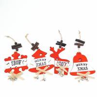 Weihnachtsangebot, Holz, Schneeflocke, Handzeichnung, verschiedene Stile für Wahl & mit Brief Muster, gemischte Farben, 220x100x5mm, verkauft von PC