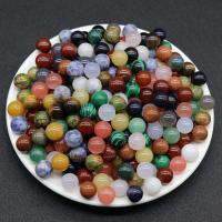 Mischedelstein Perlen, Edelstein, rund, DIY & verschiedenen Materialien für die Wahl & kein Loch, keine, 12mm, verkauft von PC