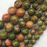 Unakite Perle, poliert, DIY & facettierte, verkauft per ca. 15.7 ZollInch Strang