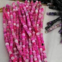 Natürliche Effloresce Achat Perlen, Auswitterung Achat, DIY, keine, 8mm, ca. 48PCs/Strang, verkauft per 15.5 ZollInch Strang