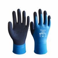 LatexMilchsaft Handschuh, verschiedene Größen vorhanden & wasserdicht, blau, verkauft von Paar