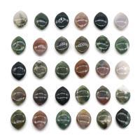 Natürliche Indian Achat Perlen, Indischer Achat, poliert, DIY, gemischte Farben, 12x16mm, Bohrung:ca. 1mm, verkauft von PC