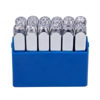 Eisen Stempel, Platinfarbe platiniert, gemischtes Muster & DIY, Platin Farbe, frei von Nickel, Blei & Kadmium, 10x65.50mm, 12PCs/Box, verkauft von Box