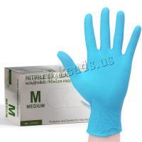 Gesundheit+Schutz+%26+Sicherheit+Handschuhe+, NBR, verschiedene Größen vorhanden, blau, 100PCs/Box, verkauft von Box