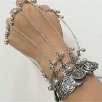 Zink-Legierung Armband-Ring, Zinklegierung, plattiert, für Frau, keine, frei von Nickel, Blei & Kadmium, verkauft per 9.10 ZollInch Strang