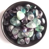 Mode Dekoration, Buntes Fluorit, natürliche, gemischte Farben, 15-20mm, verkauft von Tasche