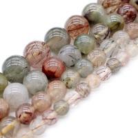 Natürliche gefärbten Quarz Perlen, Natürlicher Quarz, poliert, DIY & verschiedene Größen vorhanden, verkauft von Strang