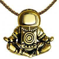 Männer Halskette, Zinklegierung, Astronaut, plattiert, für den Menschen, keine, frei von Nickel, Blei & Kadmium, 600mm, verkauft von PC