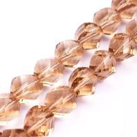 Kristall-Perlen, Kristall, Twist, DIY & verschiedene Größen vorhanden & Maschine facettiert, mehrere Farben vorhanden, verkauft von Strang