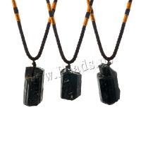 Pullover Kette Halskette, Naturstein, unisex, schwarz, frei von Nickel, Blei & Kadmium, Länge:ca. 26 ZollInch, verkauft von Tasche
