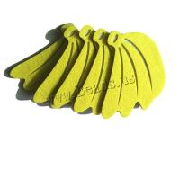 Aufkleber Papier, Stoff, Fruchtentwurf & verschiedene Stile für Wahl, keine, 5PCs/setzen, verkauft von setzen