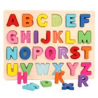 Lernen \u0026 Lernspielzeug, Holz, für Kinder & verschiedene Stile für Wahl, gemischte Farben, 300x225x8mm, 2BoxFeld/Menge, verkauft von Menge