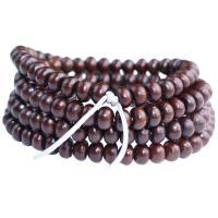 Handgelenk Mala, Bodhi, flache Runde, poliert, verschiedene Größen vorhanden, originale Farbe, ca. 108PCs/Strang, verkauft von Strang