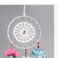 Fashion Dreamcatcher, Baumwollsamt, mit Gänsefedern, handgemacht, hohl, 1500x500mm, verkauft von PC
