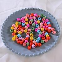 Haarklammer, Kunststoff, für Kinder, gemischte Farben, 5x10mm, 10PCs/Tasche, verkauft von Tasche