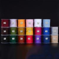 Sewing Thread, Nylon Polypropylen, DIY & binden, keine, 0.8mm, ca. 100m/Spule, verkauft von Spule