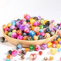 Traumhafte Acrylperlen, Acryl, rund, DIY & imitiertes Porzellan, verkauft von Tasche