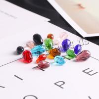 Mode Glasperlen, Glas, Tropfen, DIY & verschiedene Größen vorhanden & facettierte, keine, 10PCs/Tasche, verkauft von Tasche