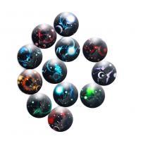 Glas Cabochons, Glasperlen, Dom, Konstellation Schmuck & Zeit Edelstein Schmuck & DIY, keine, 18mm, verkauft von PC